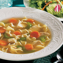 Hearty Homemade Chicken Noodle Soup Express